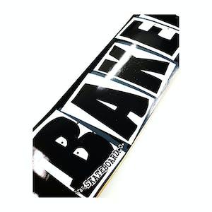 Baker OG Logo Skateboard Deck - Black/White