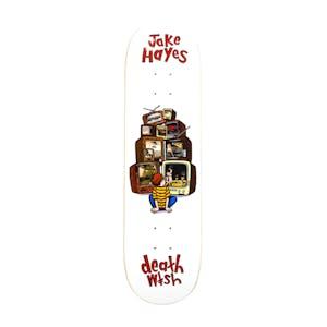 """Deathwish Hayes Channel Surfing 8.25"""" Skateboard Deck"""