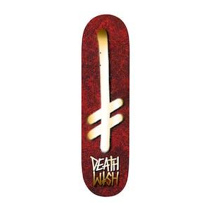 "Deathwish Holy Gang Logo 8.38"" Skateboard Deck"