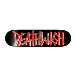 "Deathwish OG Deathspray 8.25"" Skateboard Deck - Red/Black"