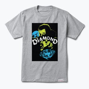 Diamond Classic Horror T-Shirt - Heather