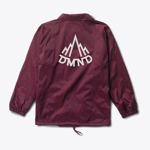 Diamond Mountaineer Coaches Jacket - Burgundy