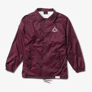 Diamond Mountaineer Coaches Jacket - Burgundy