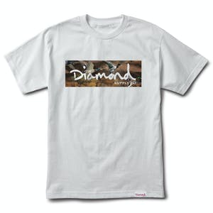 Diamond Woodland T-Shirt — White