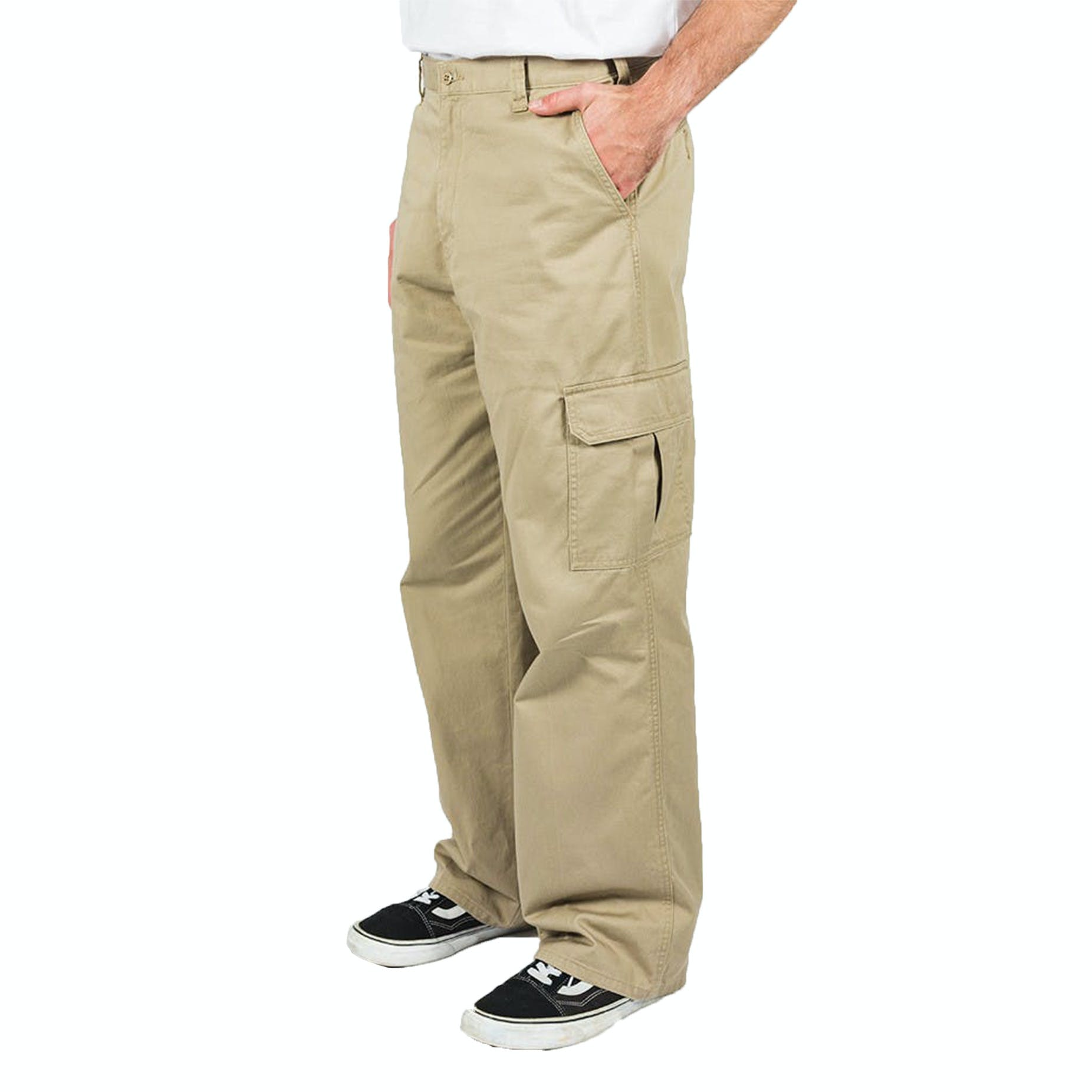 select for authentic special section enjoy cheap price Dickies Cargo Pant - Rinsed Khaki