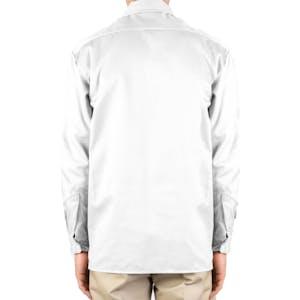 Dickies Long Sleeve Work Shirt - White