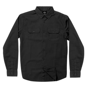 Dickies Anchorage Long Sleeve Shirt - Black