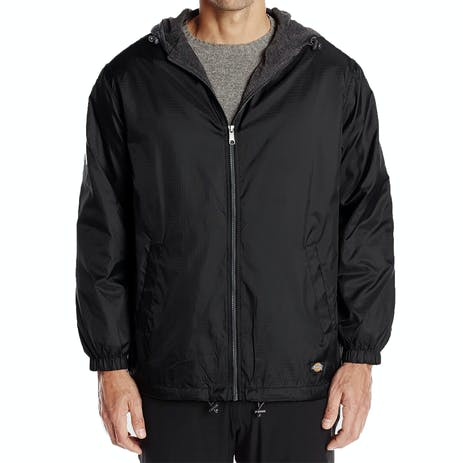 Dickies Nylon Hooded Jacket - Black