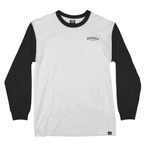 Dickies Origins Long Sleeve T-Shirt - Black/White