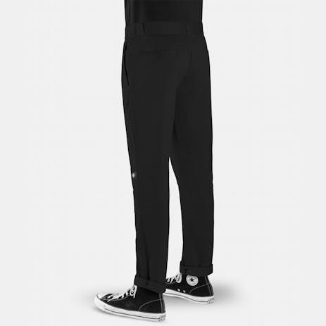 Dickies Slim Fit Double Knee Work Pant - Black