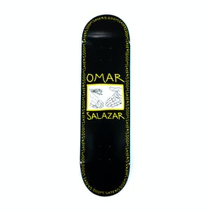 "Doom Sayers Omar Salazar 8.4"" Skateboard Deck - Black"