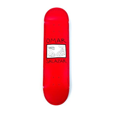 "Doom Sayers Omar Salazar 8.25"" Skateboard Deck - Red"