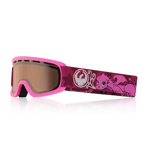 Dragon Lil D Youth Snowboard Goggle 2018 - Gilly / Silver Ion