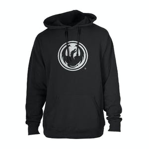 Dragon Icon Hoodie - Black
