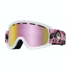 Dragon Lil D Youth Snowboard Goggle 2020 - Dart Pink / Pink Ion