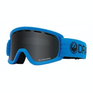 Dragon Lil D Youth Snowboard Goggle 2020 - Soft Blue / Dark Smoke