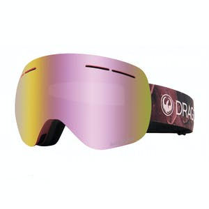 Dragon X1S Snowboard Goggle 2020 - Rose / Pink Ion + Spare Lens