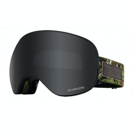 Dragon X2 Snowboard Goggle 2020 - Icon Camo / Dark Smoke + Spare Lens