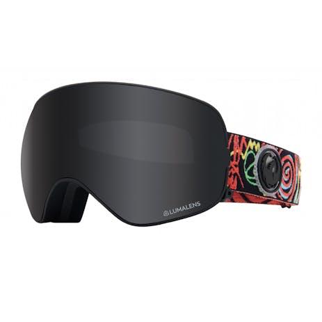 Dragon X2s Snowboard Goggle 2020 - Gigi Rüf Signature / Dark Smoke + Spare Lens