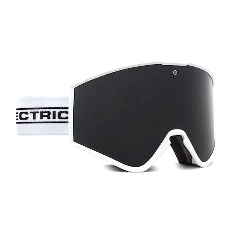 Electric Kleveland Snowboard Goggle 2021 - White Tape / Jet Black + Spare Lens