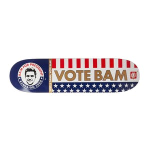 "Element Bam for President 8.25"" Skateboard Deck"