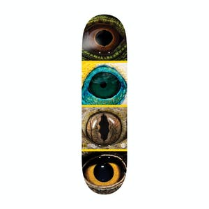 "Element Nat Geo Eye Quad 8.0"" Skateboard Deck"