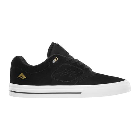 Emerica Reynolds 3 G6 Vulc Skate Shoe - Black / White / Gold
