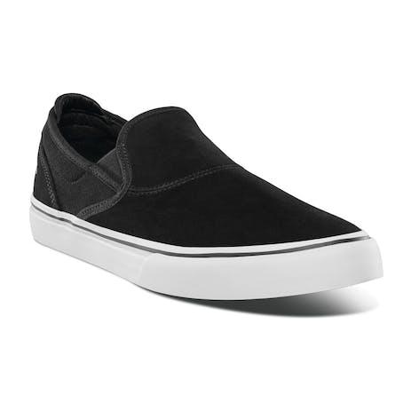 Emerica Wino G6 Slip-On Skate Shoe - Black/White/Gold