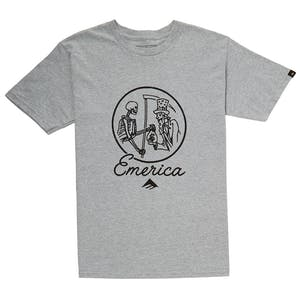 Emerica Death Deal T-Shirt - Grey/Heather