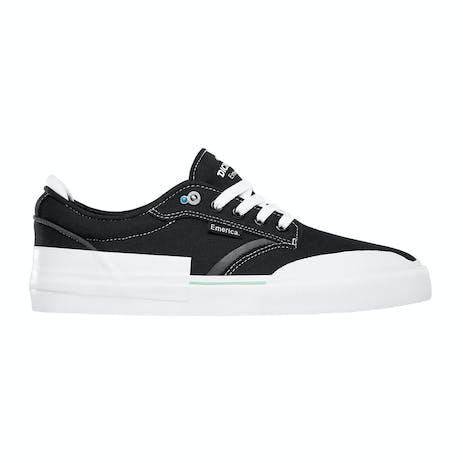 Emerica Dickson Skate Shoe - Black/White