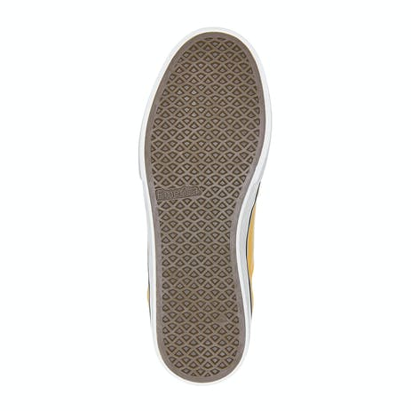 Emerica Low Vulc Skate Shoe - Yellow/White