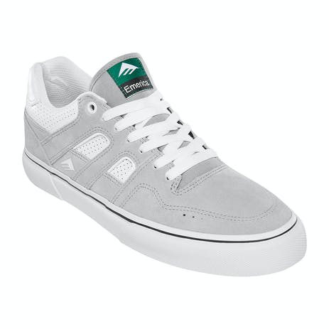Emerica Tilt G6 Vulc Skate Shoe - Grey/White