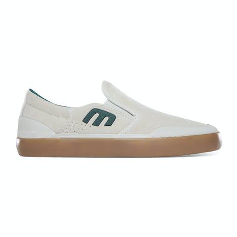 etnies Marana Slip XLT Skate Shoe - White/Green/Gum