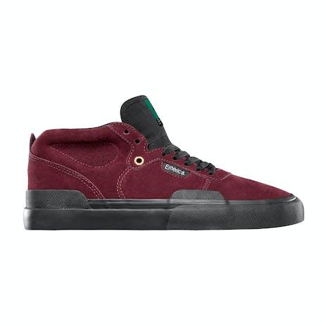 Emerica Pillar Skate Shoe - Oxblood