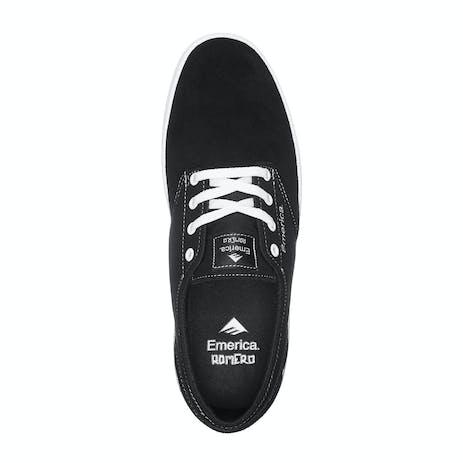 Emerica Romero Laced Skate Shoe - Black/White/Black