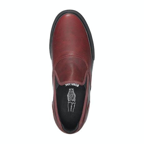 Emerica Wino G6 Slip-On Skate Shoe - Oxblood