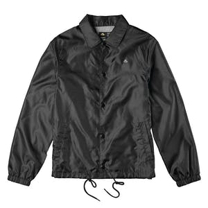 Emerica Sketch Snake Coaches Jacket — Black/Dark Grey