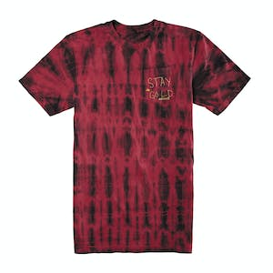 Emerica Stay Gold Pocket Wash T-Shirt — Maroon