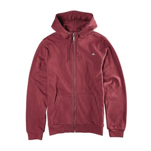 Emerica Triangle Zip Hood — Maroon