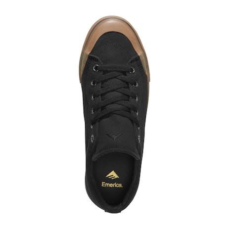 Emerica Indicator Low Skate Shoe - Black/Gum