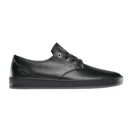 Emerica Romero Laced Skate Shoe - Black/Black/Grey