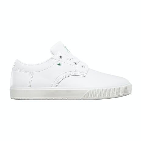 Emerica Spanky G6 Skate Shoe - White