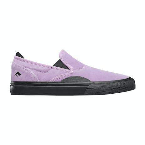 Emerica Wino G6 Slip-On Skate Shoe - Violet