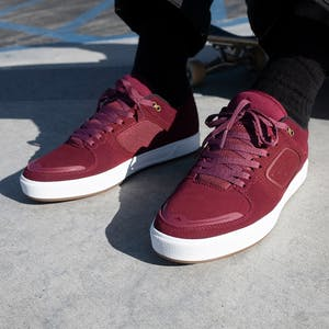 Emerica Reynolds G6 Skate Shoe - Maroon