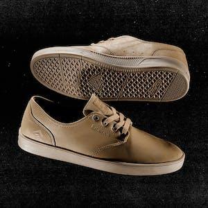Emerica Romero Laced Skate Shoe - Tan / Tan / Brown