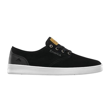 Emerica Romero Laced Skate Shoe - Black/Black/White