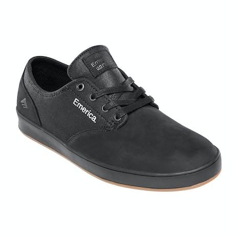 Emerica Romero Laced Skate Shoe - Black Raw