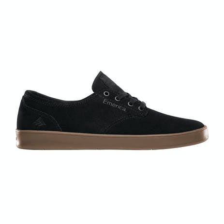 Emerica Romero Laced Skate Shoe - Black/Charcoal/Gum