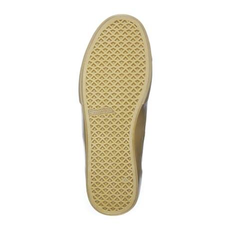 Emerica Wino Standard Skate Shoe - Olive/Gum Leather