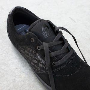 Emerica x Baker Figgy Dose Skate Shoe - Black/Black